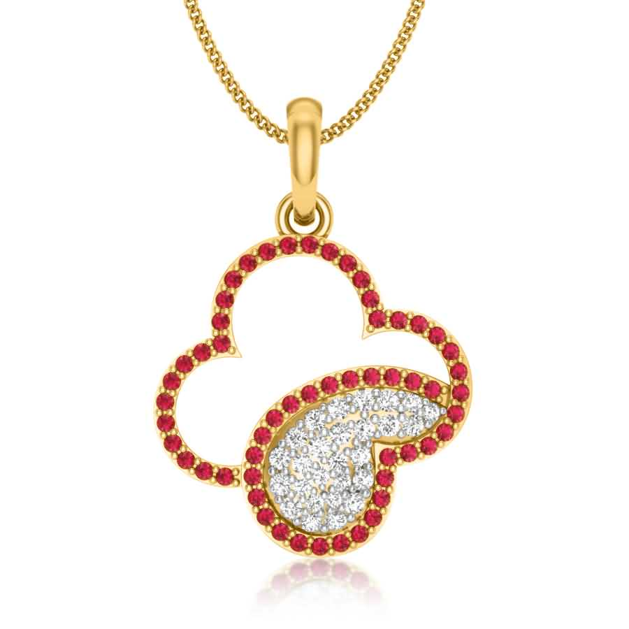 Shine of Red Dots Pendant