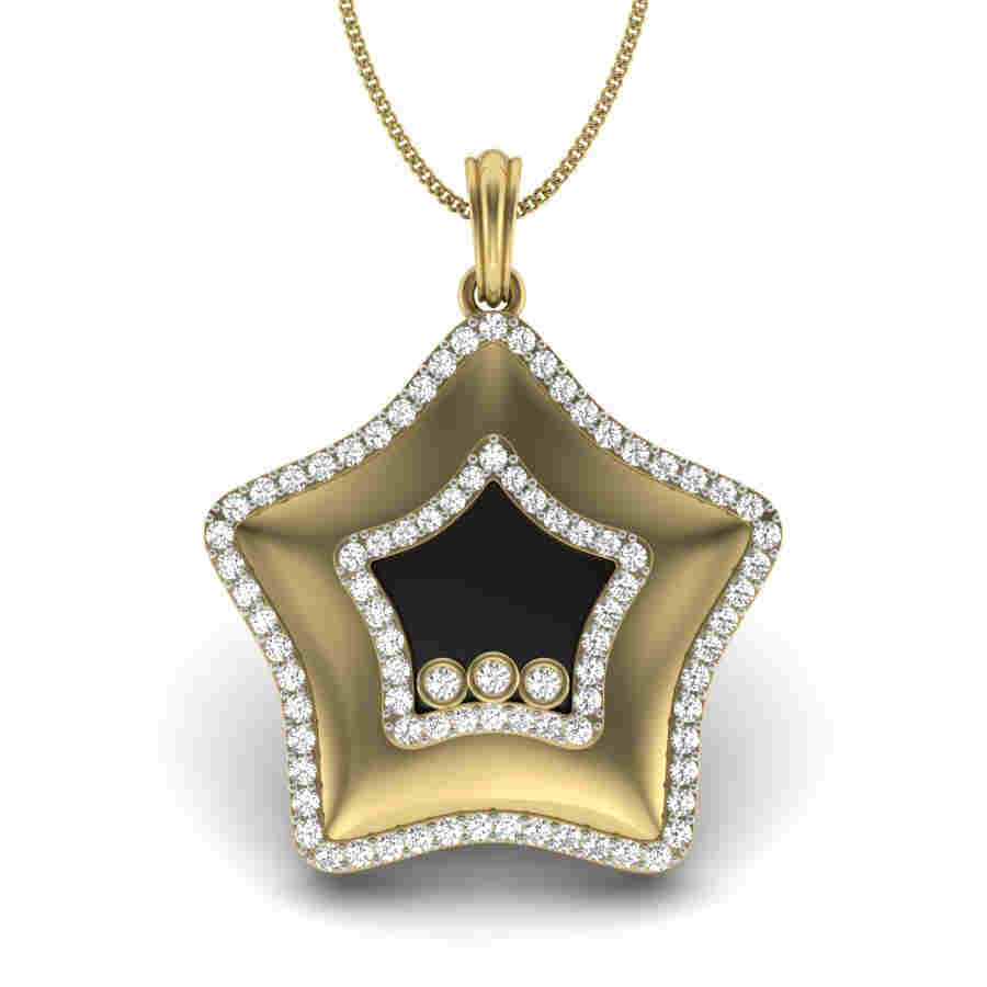 Starry Diamond Pendant