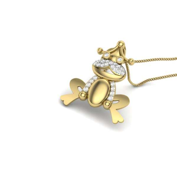 Fascinating Frog Pendant