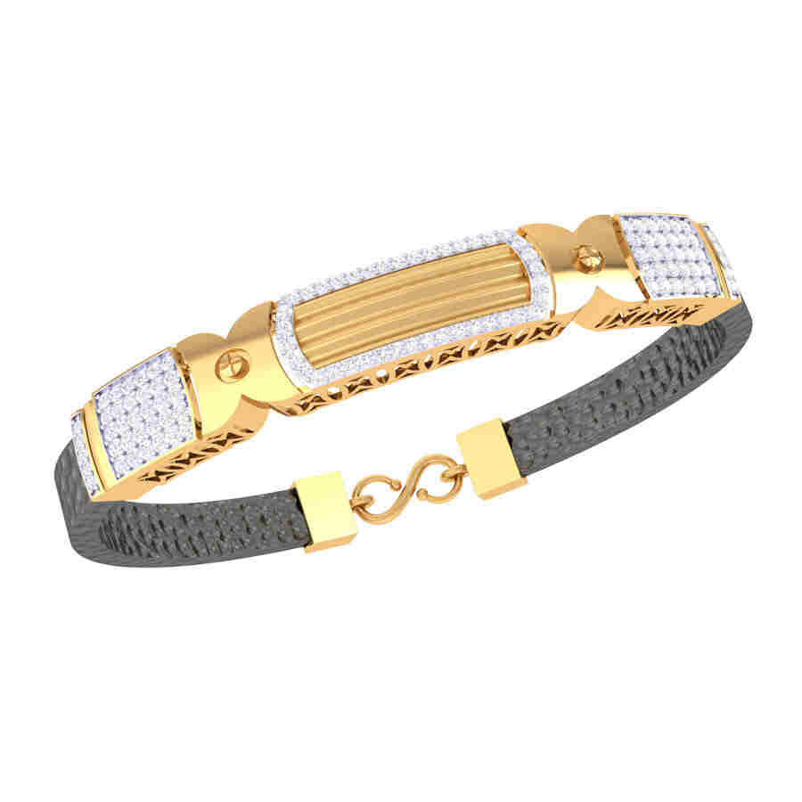 Heavy Diamond Bracelet