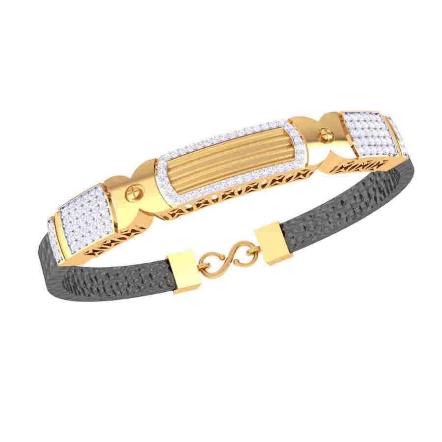 Heavy Diamond Bracelet