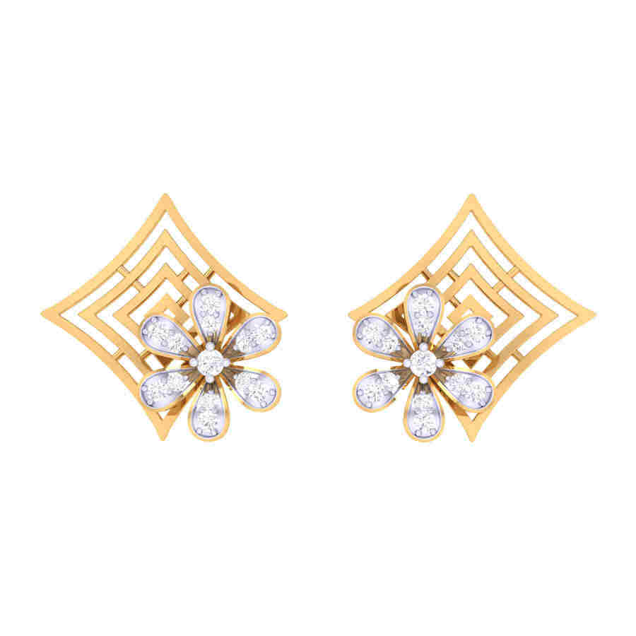 Ever Shine Diamond Earring