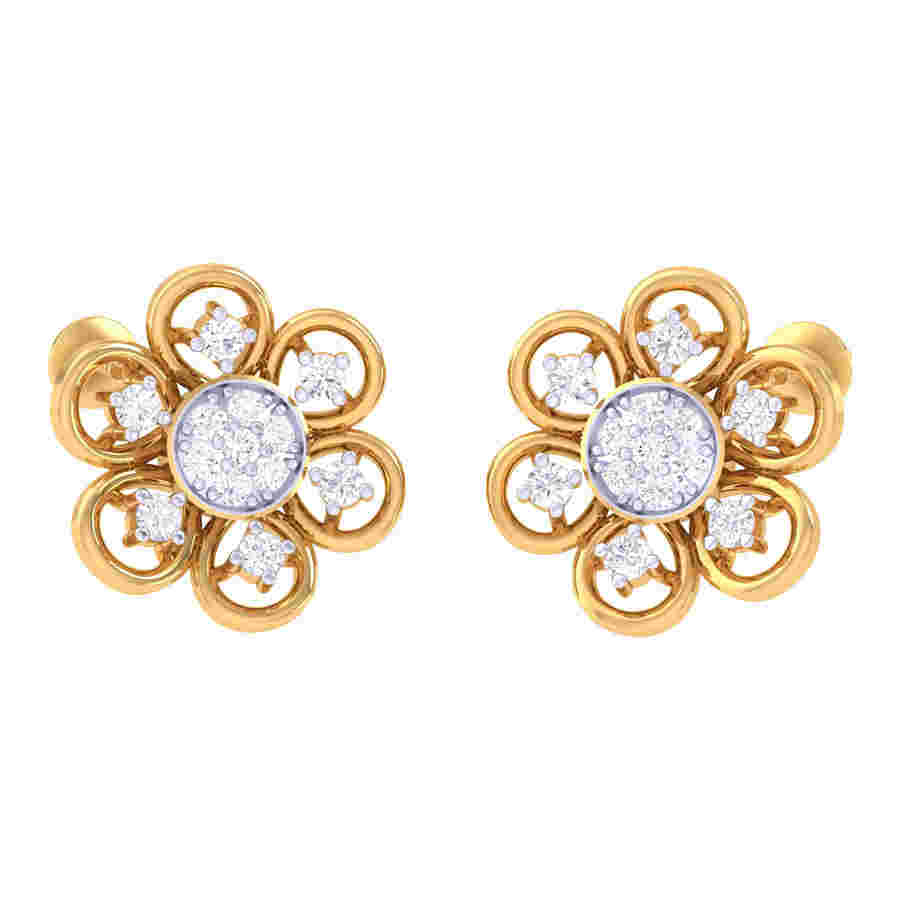 Heena Diamond Earring