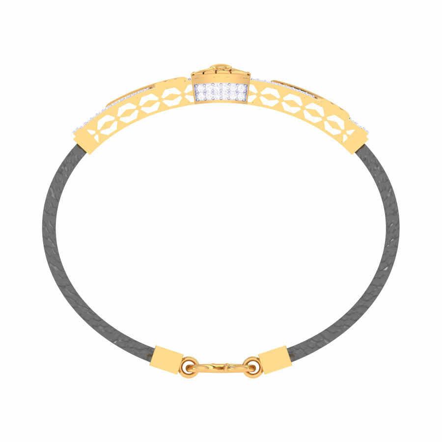 Rectangular Diamond Shape Brac