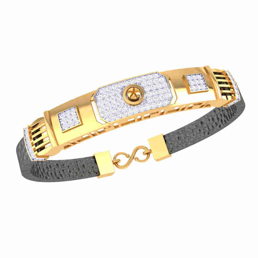 2 Square Shape Diamond Bracele