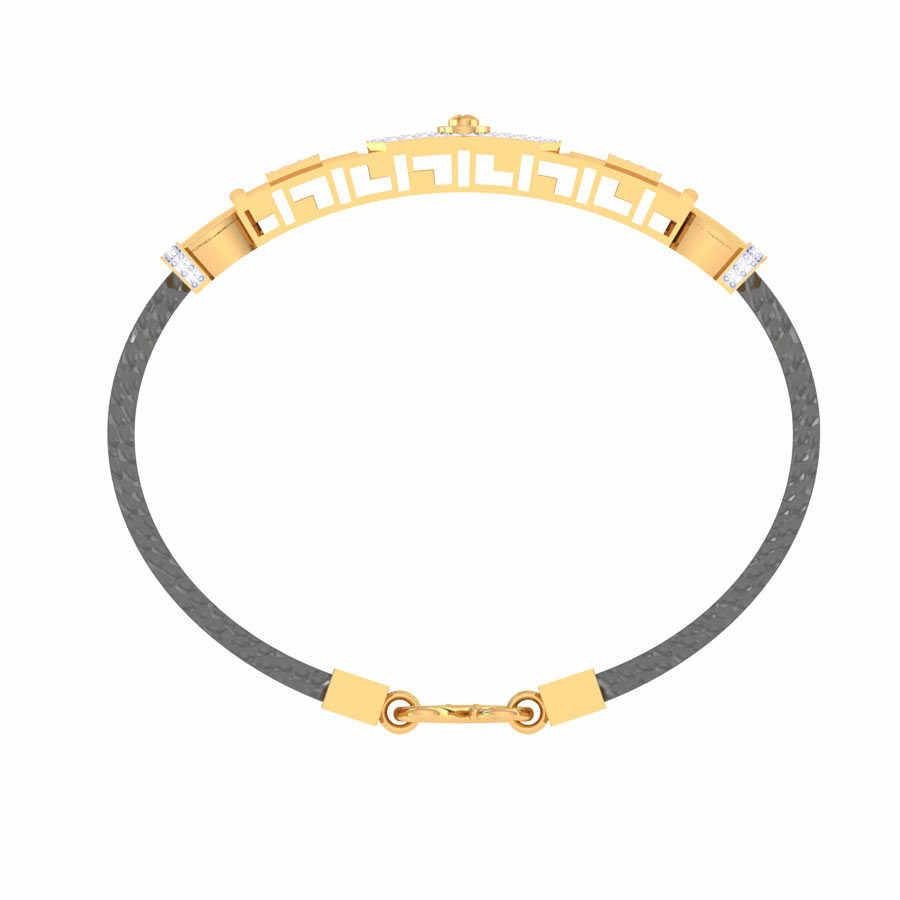 2 Square Shape Diamond Bracele