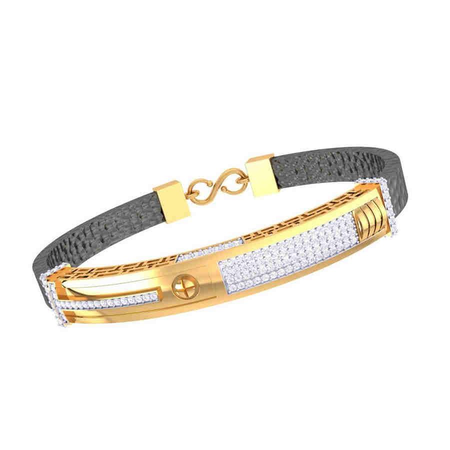 Brood Design Diamond Bracelet