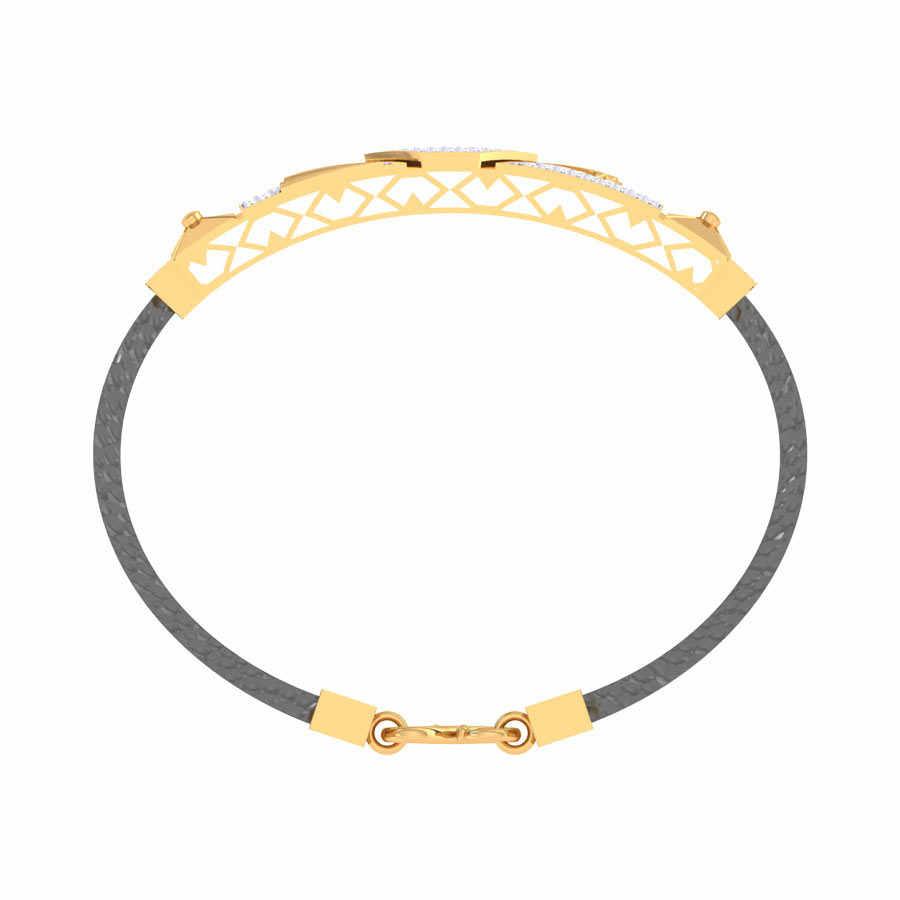 Heavy Diamond Design Bracelet