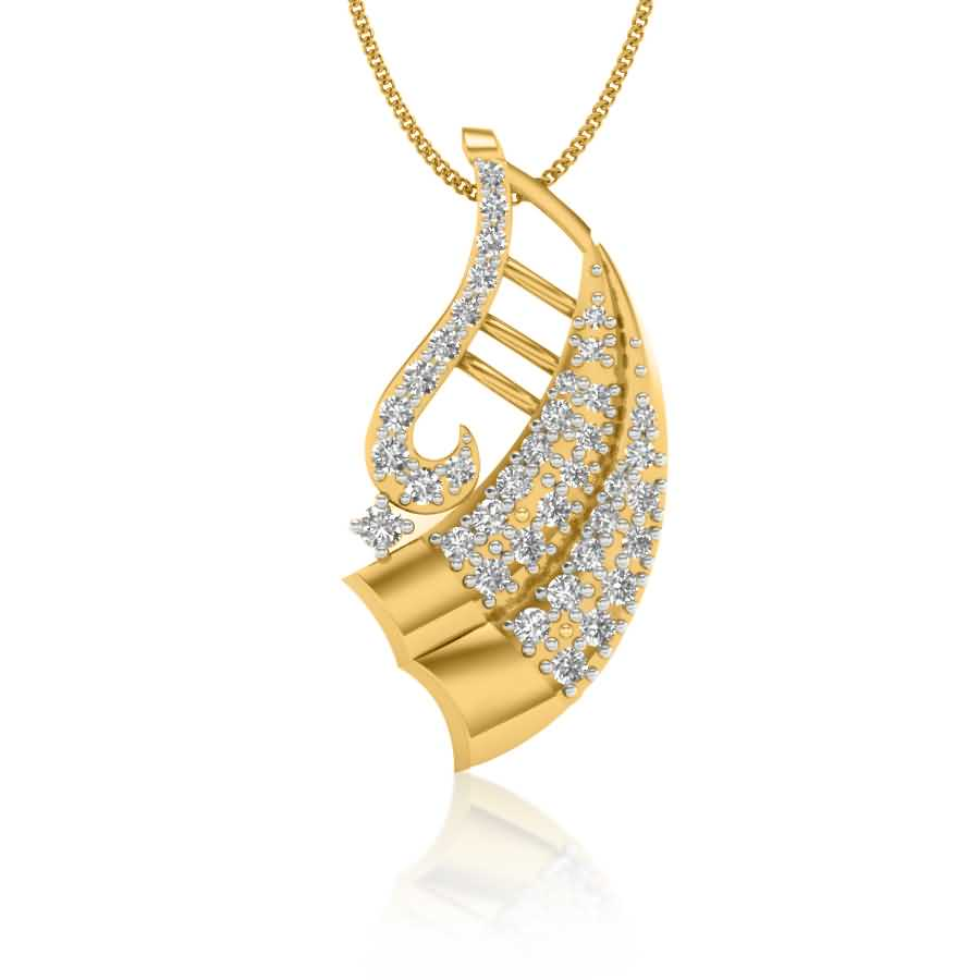 Luster New Diamond Pendant