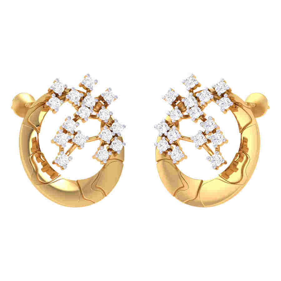 Shimmers Diamond Earring