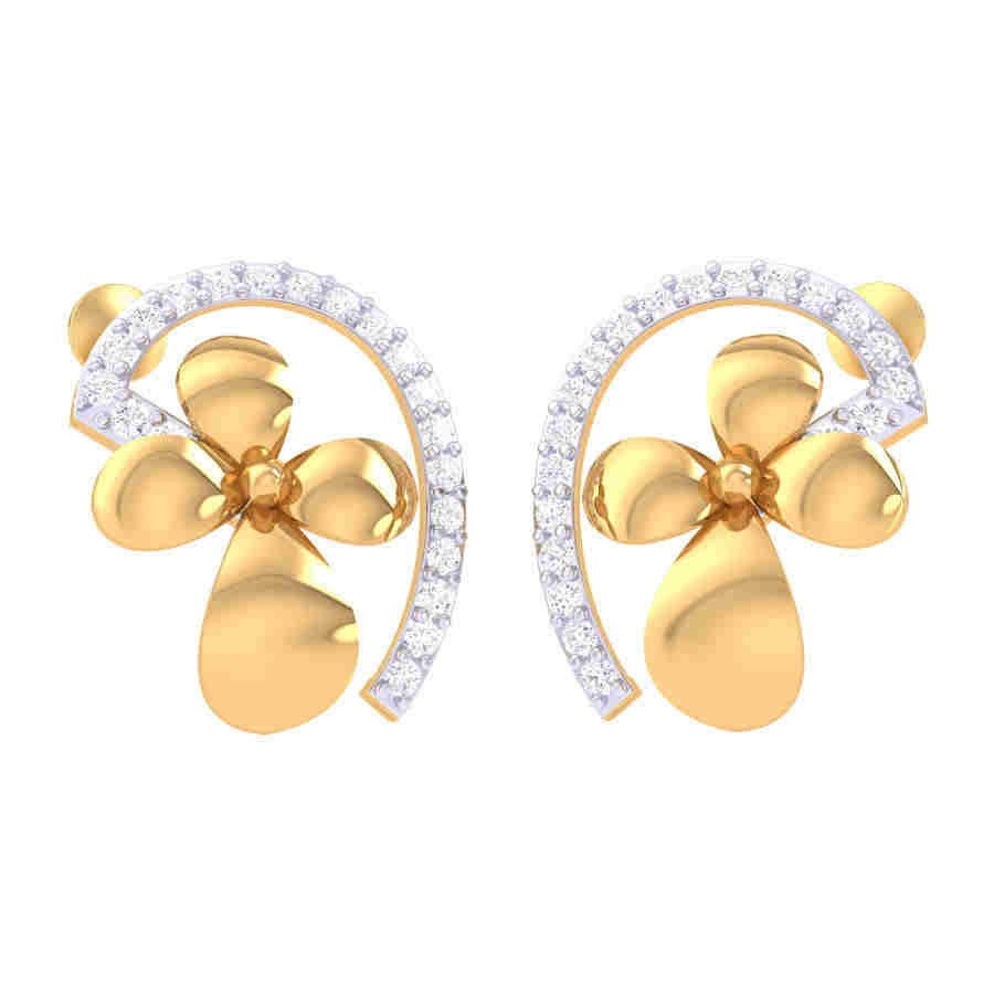Prapti Diamond Earring