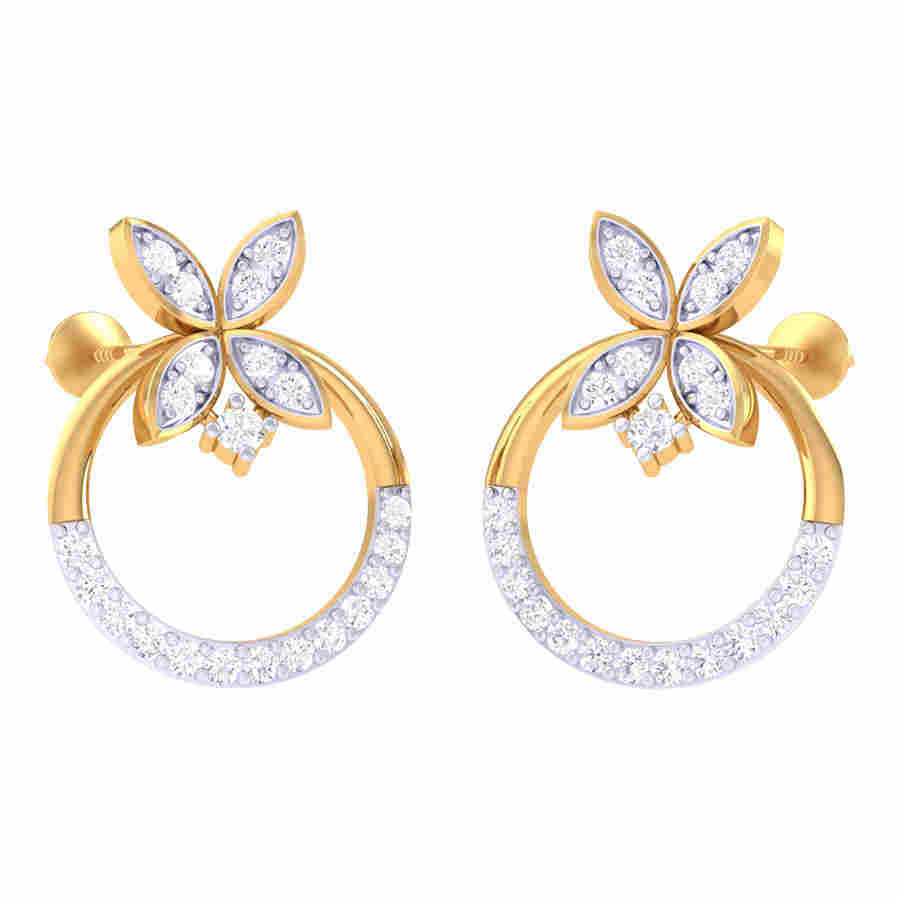 Classic Daimond Earring