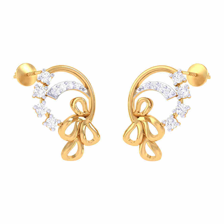 Amla Diamond Earring