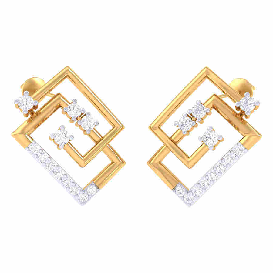 Royal Look Diamond Earring