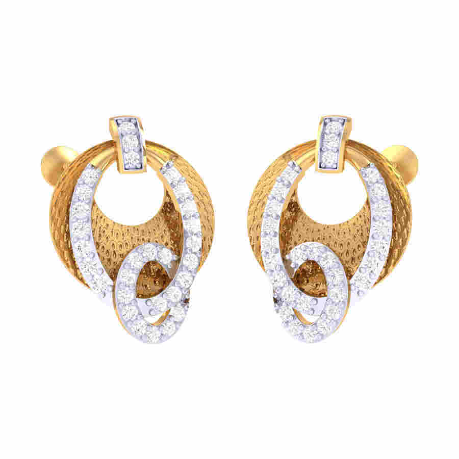 Fancy Look Diamond Earring