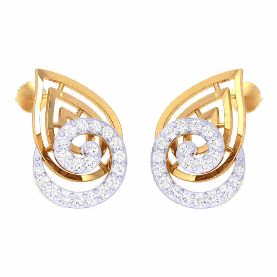 Kaitreena Diamond Earring