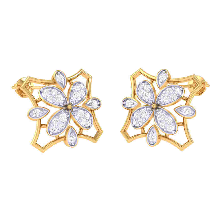 Rich Look Diamond Earring