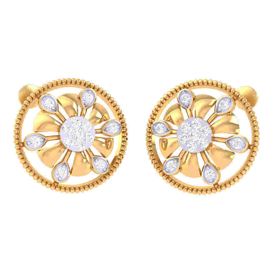 Shrinkler Diamond Earring