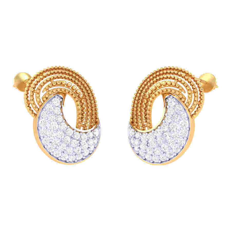 Classi Diamond Earring