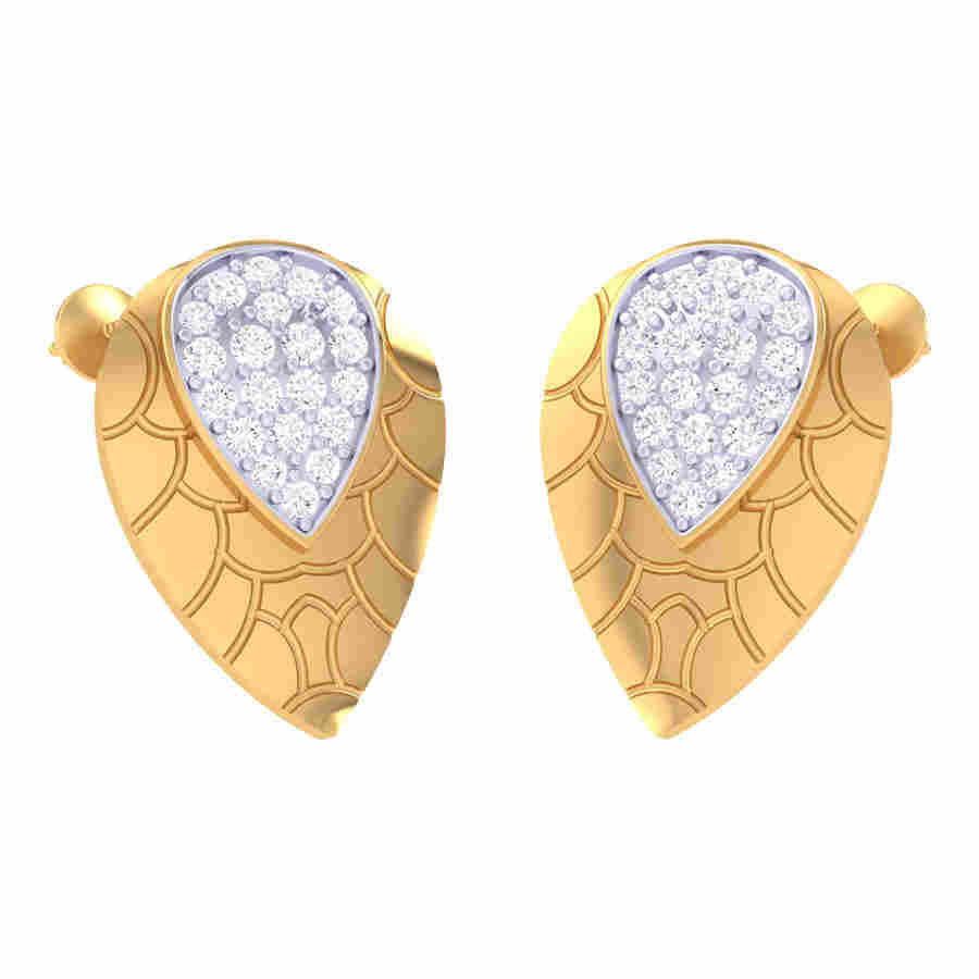 Yeal Floral Diamond Earring