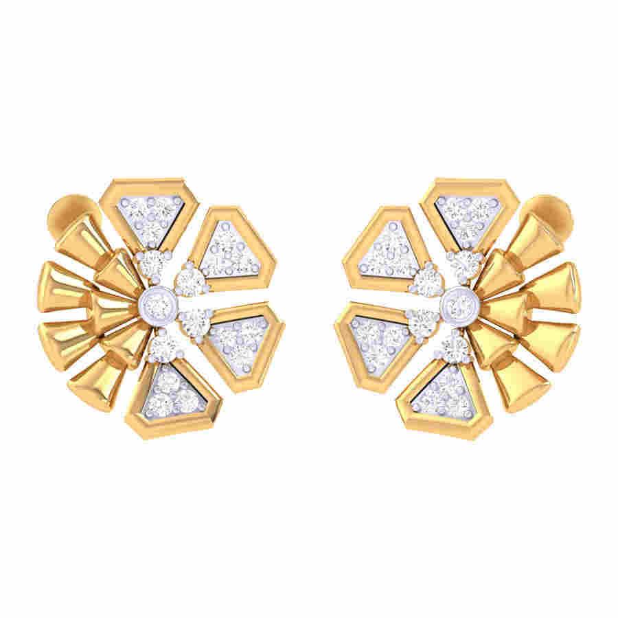 Fabulous Design Diamond Earrin