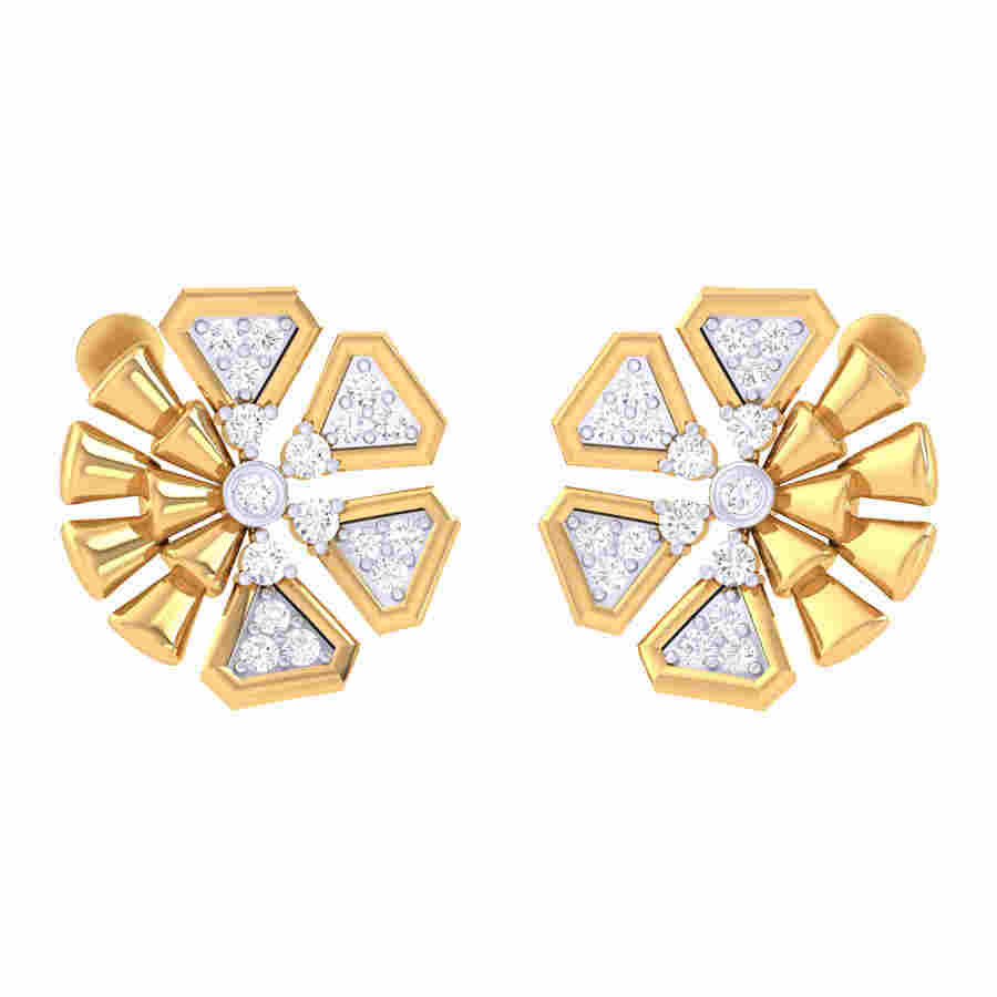 Fabulous Design Diamond Earrin