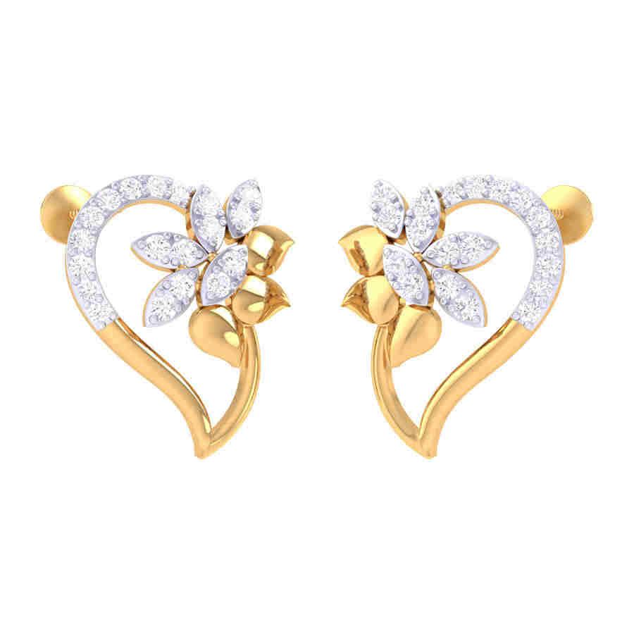 Fancy Look Diamond Earring