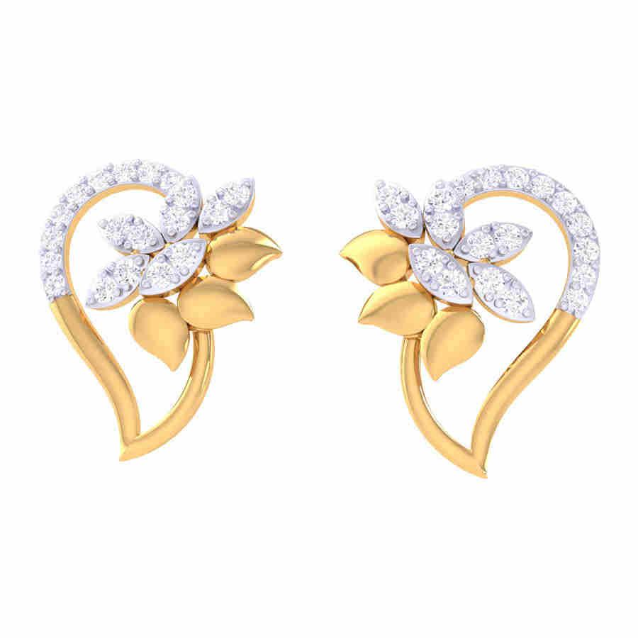 Fanty Look Diamond Earring