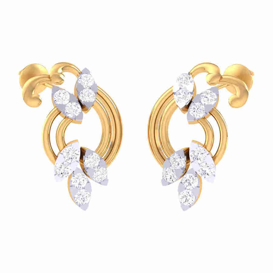Jewrati Diamond Earring