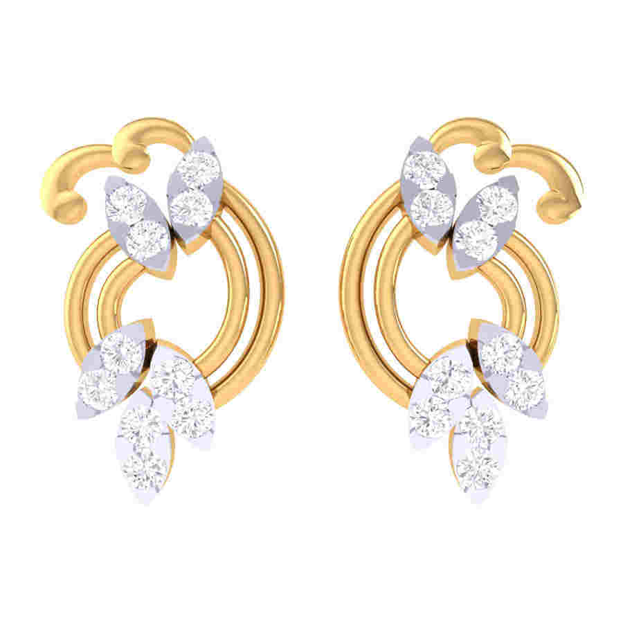 Jewrati Diamond Earring