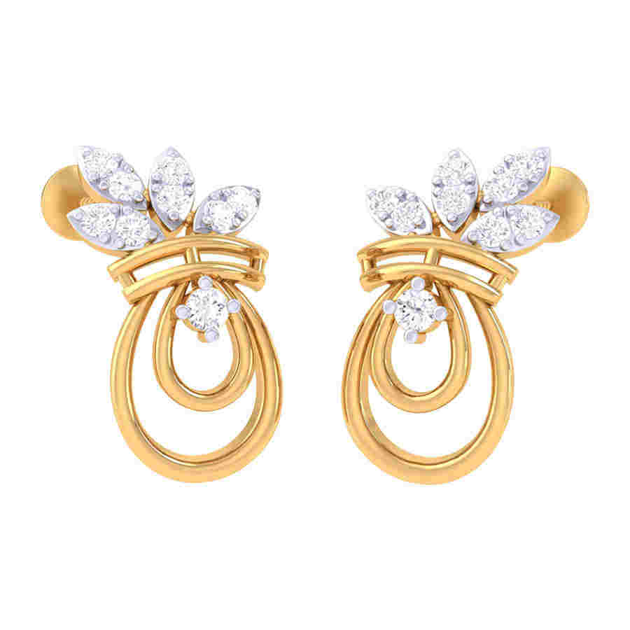 Awesome Design Diamond Earring