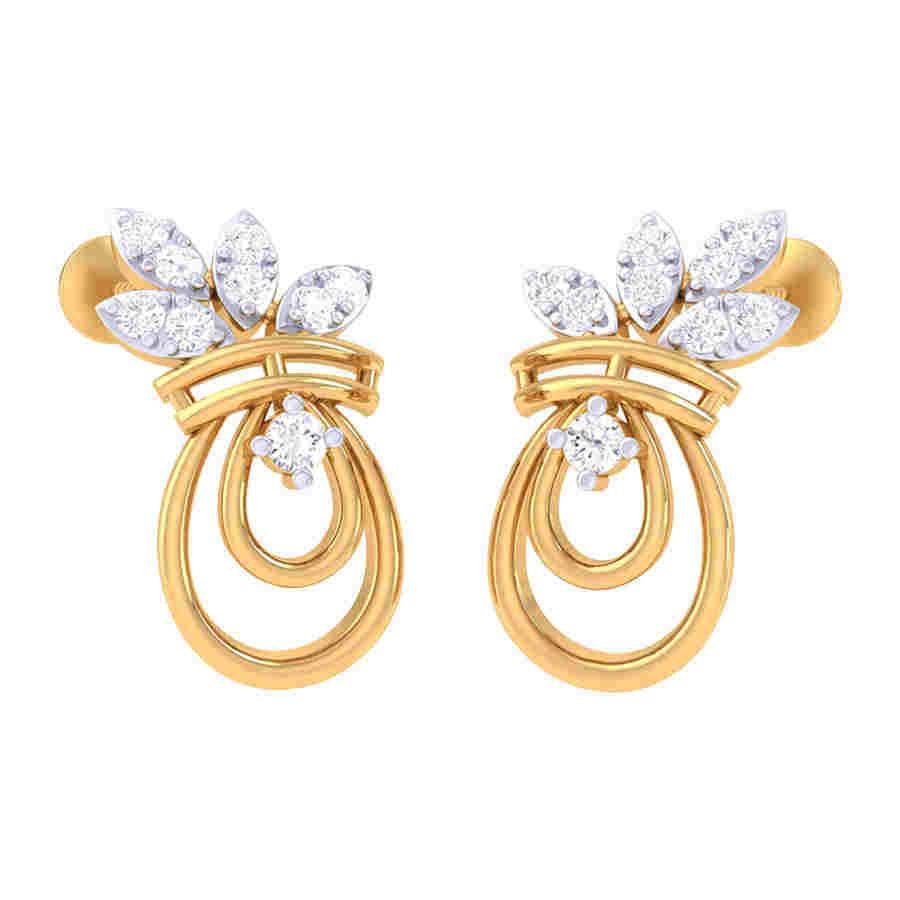 Awesome Design Diamond Earring