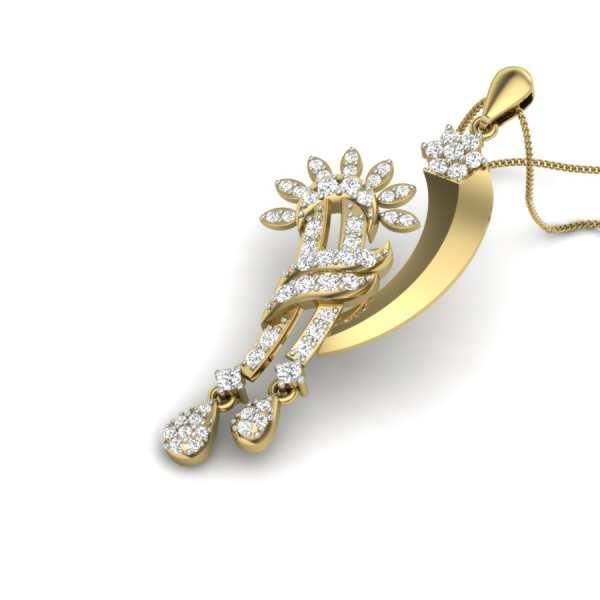 Moonstreaks Diamond Pendant