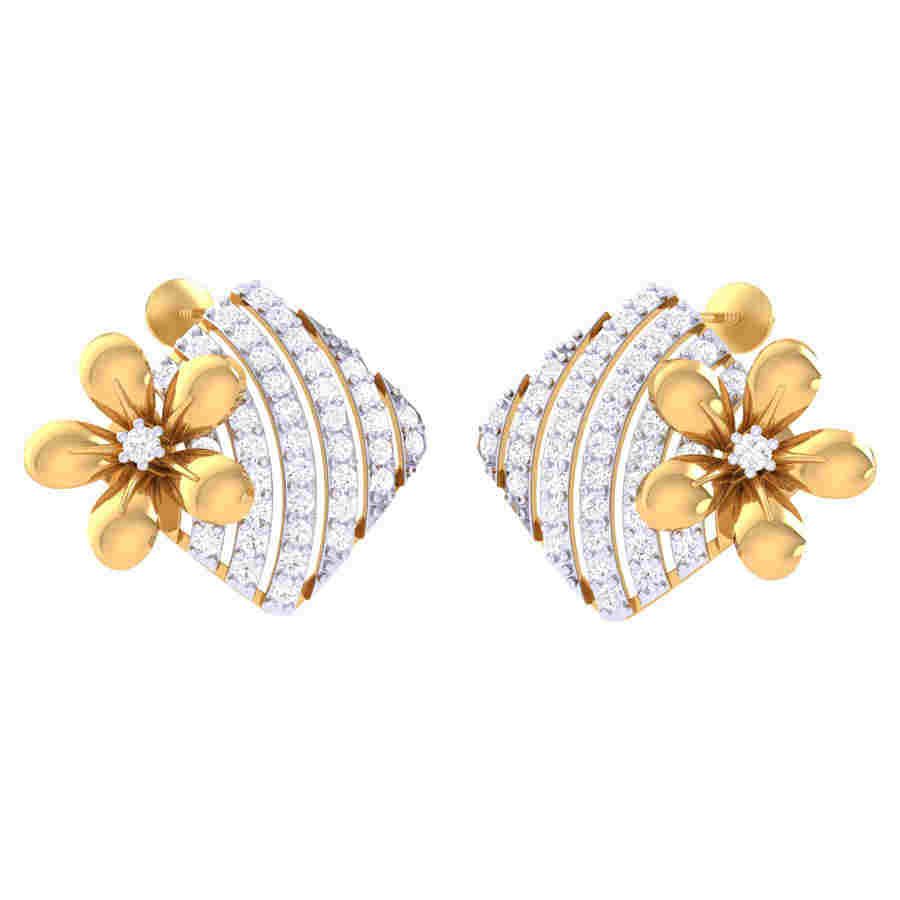 Fabilous Diamond Earring