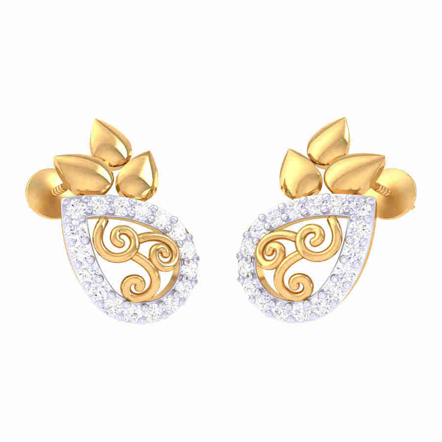 Nitya Diamond Earring