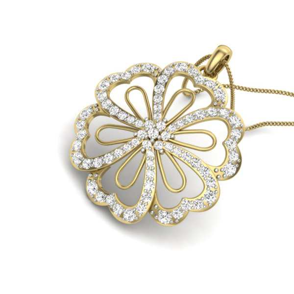 All About Flower Pendant