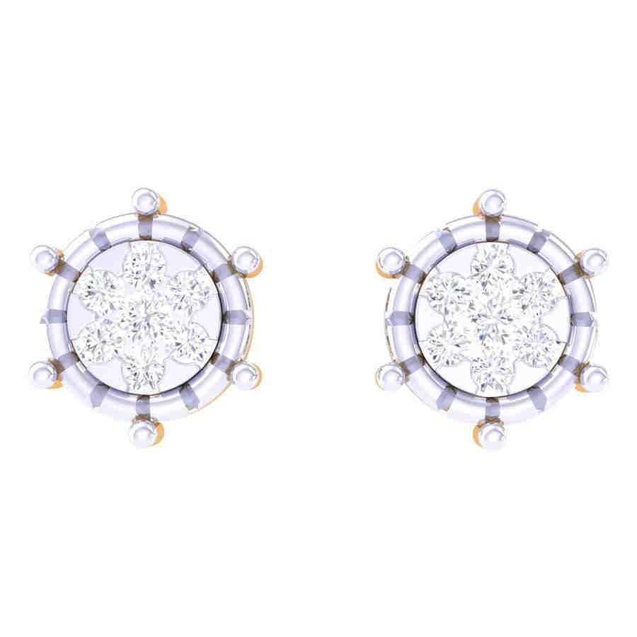 Dazzling Diamond Earring