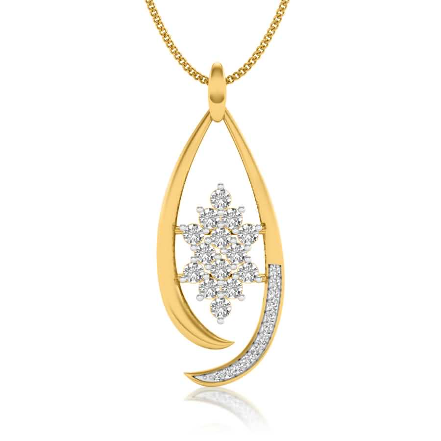 Shining Starry Diamond Pendant