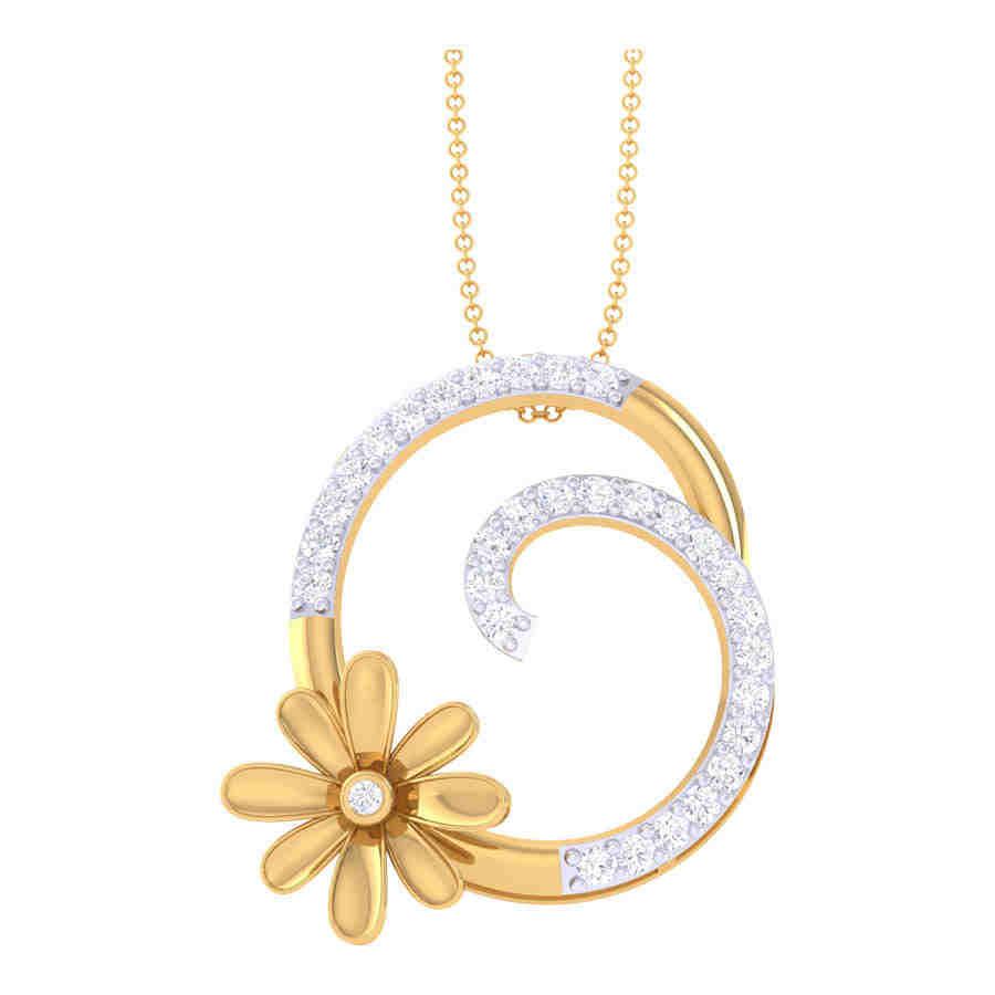 Fancy Diamond Pendant