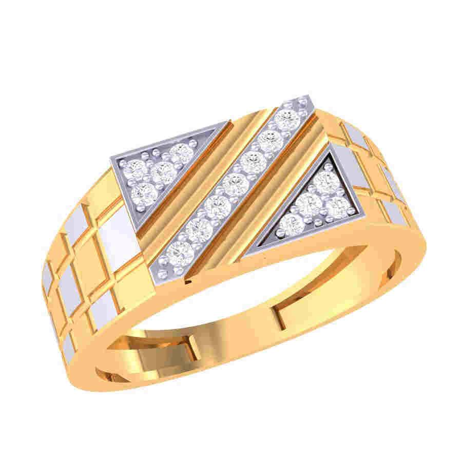 Bold 15 Diamond Ring