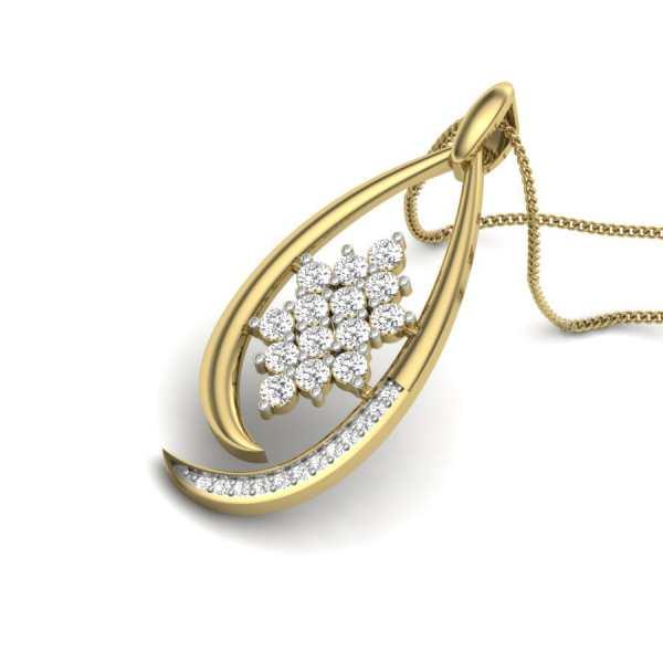 Shining Starry Diamond Pendant
