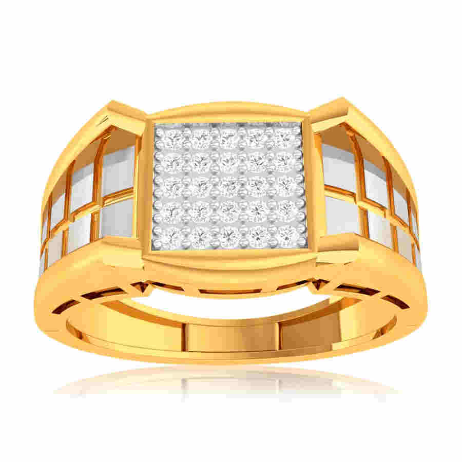 Robust Knight Diamond Ring