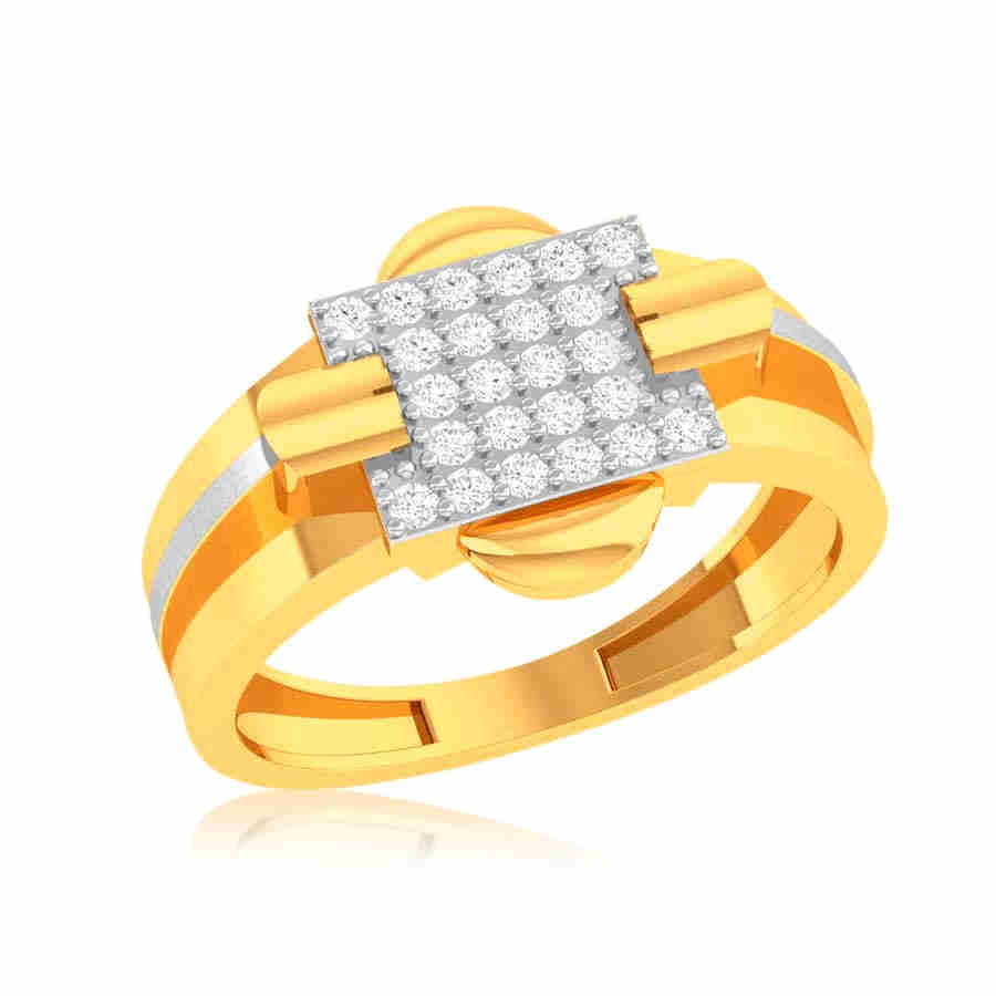 Sturdy and Stout Diamond Ring