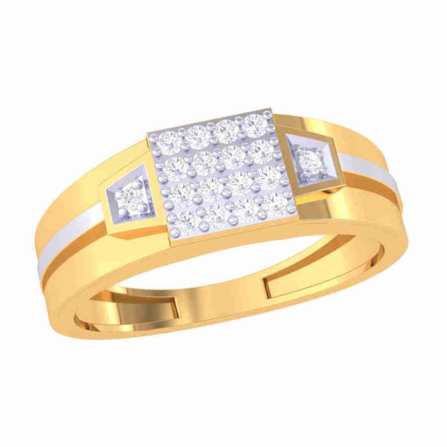 Dashing Male Diamond Ring