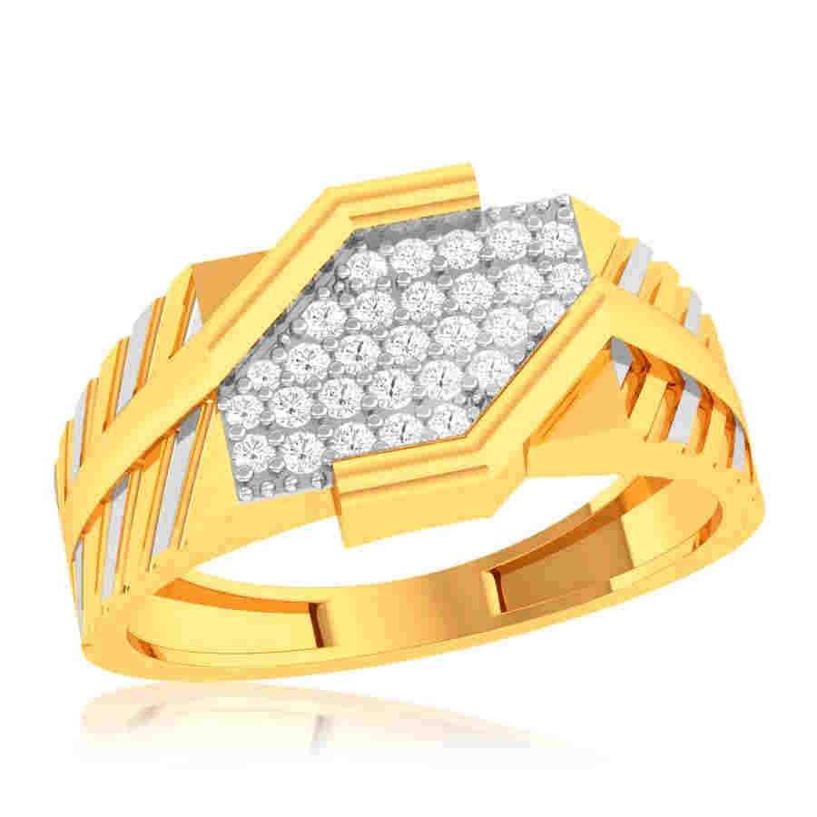 Enigmatic Square Diamond Ring