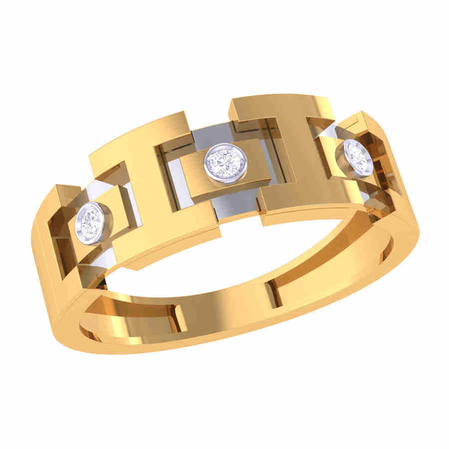 Aaron Band Diamond Ring