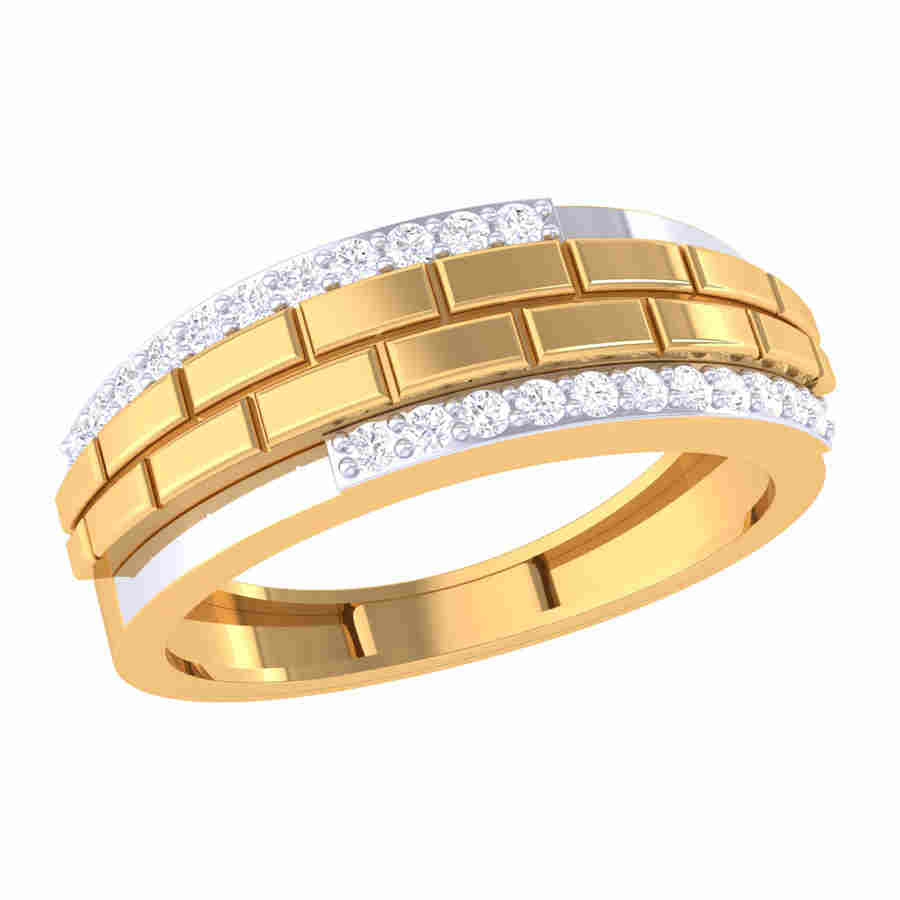 Arielle Band Diamond Ring