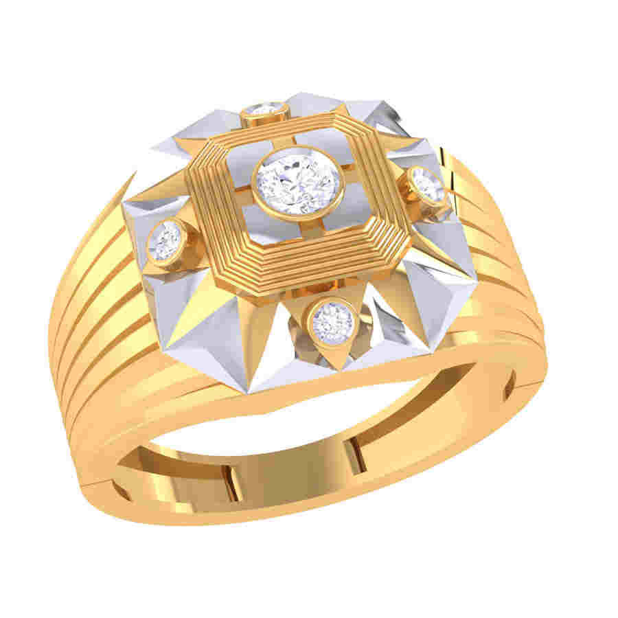 Spirit Of Human Diamond Ring
