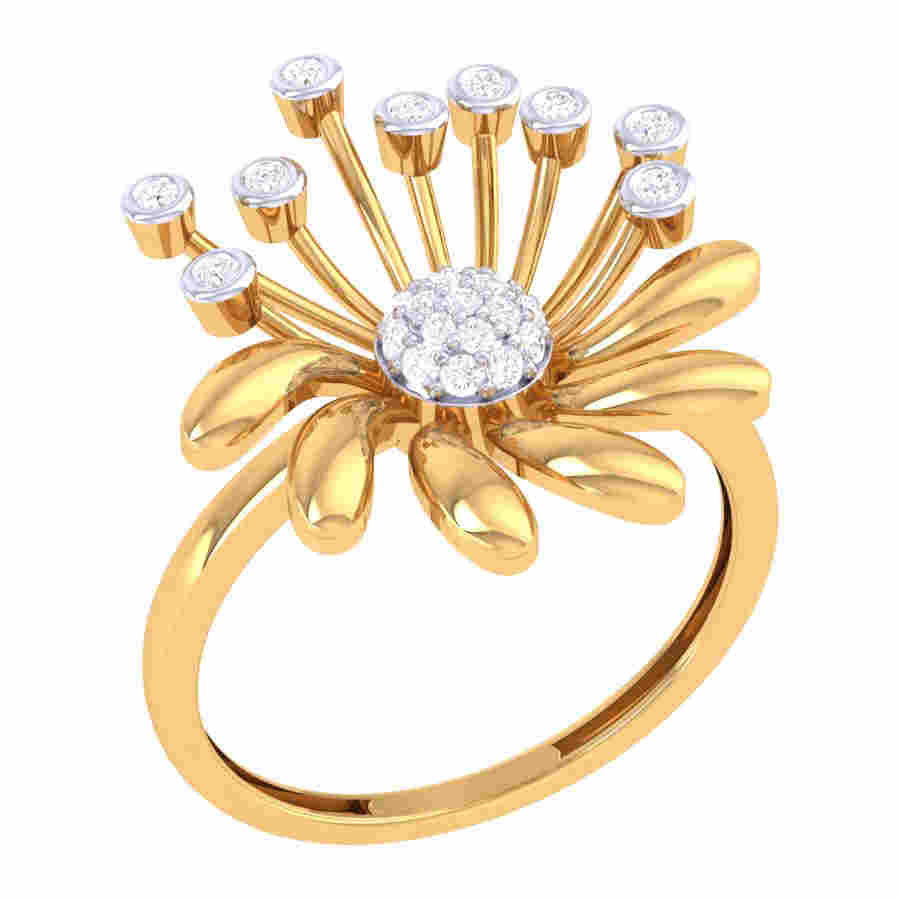 Rich Design Diamond Ring