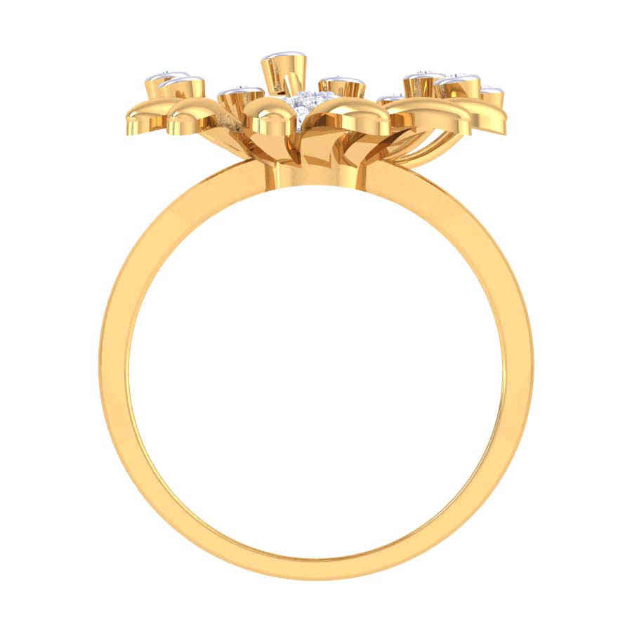 Rich Design Diamond Ring